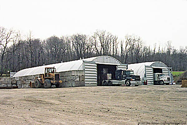 Truck Storage Buildings