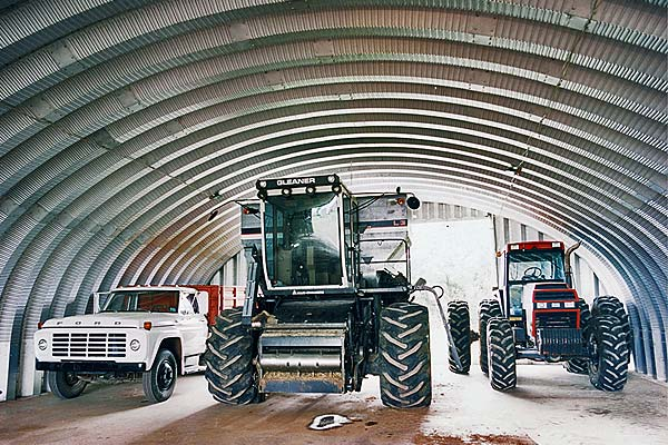Farm Equipment Storage