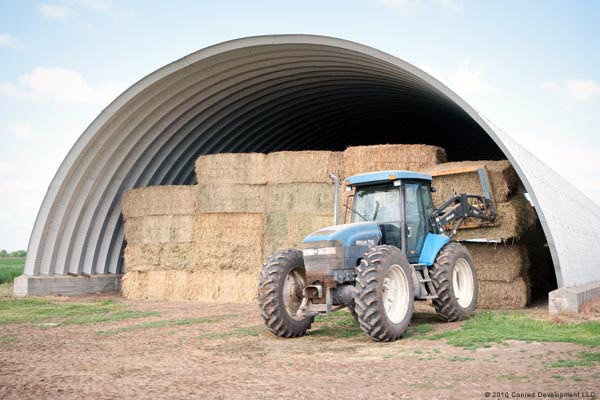 Grain and Hay Storage